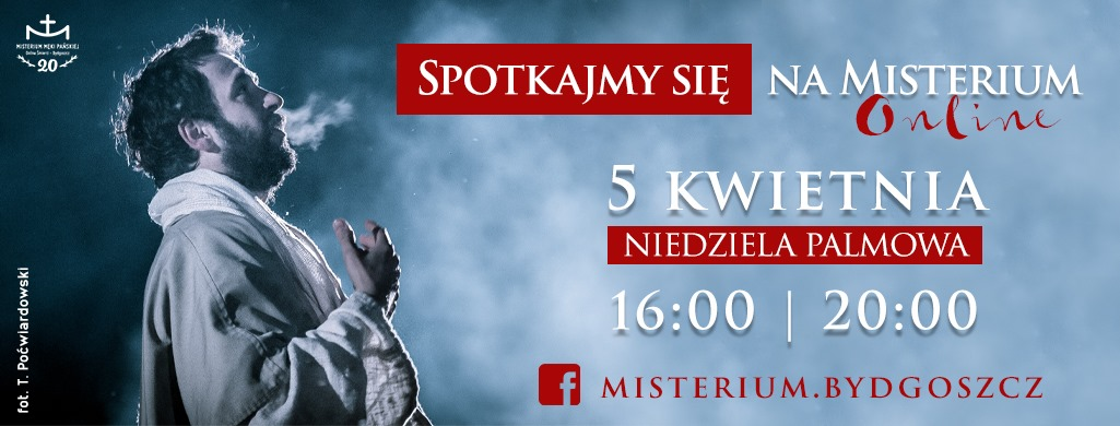 Spotkajmy się na Misterium On-line!